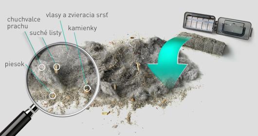 Robotický vysavač Duoro Xclean vysaje až 1 litr nečistot a prachu..