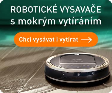 ROBOTICKÉ VYSAVAČE S MOKRÝM VYTÍRÁNÍM